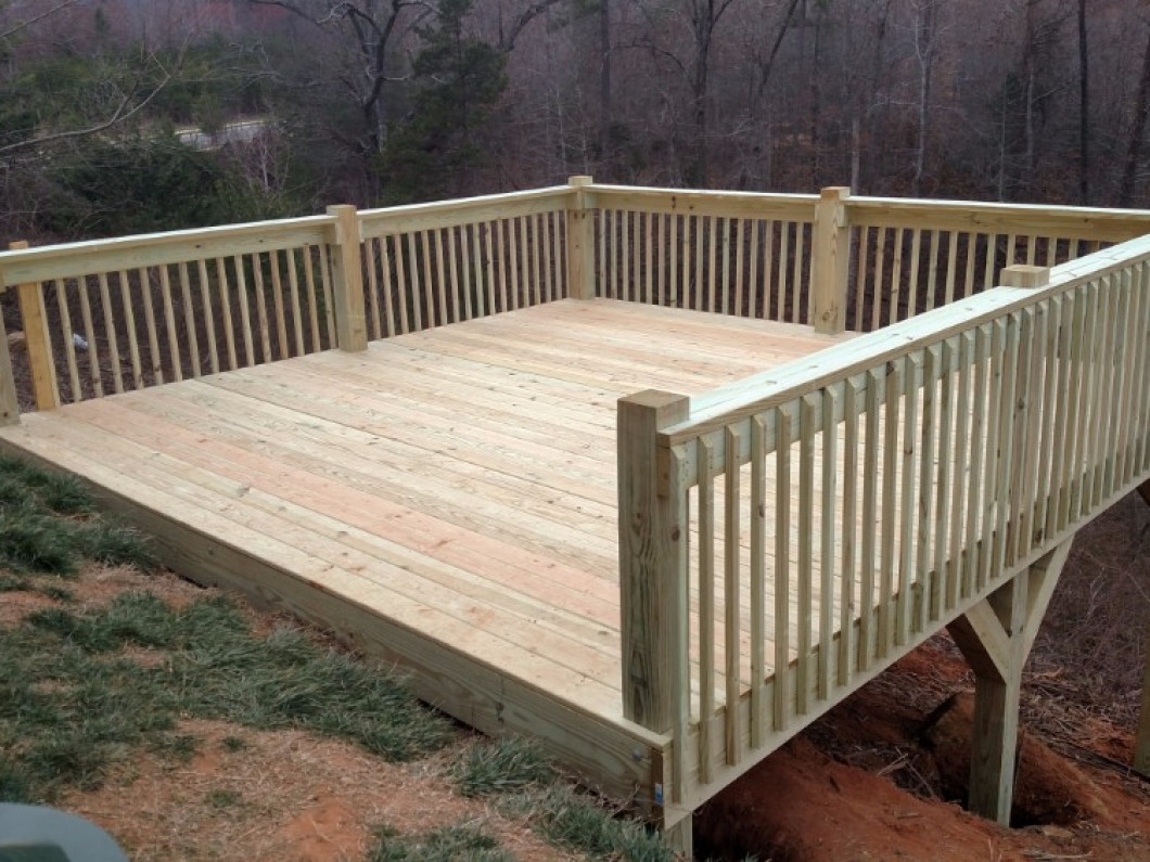 Relax on a Sturdy Deck at Your Kings Mountain, NC Home