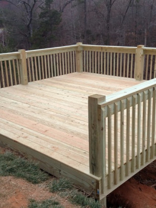 deck installation kings mountain nc